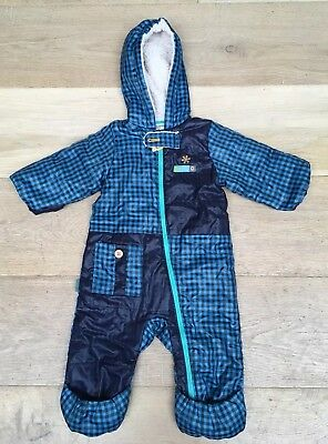 Baby Infant Jumpsuits Jacket Coat Outdoor All In One Snowsuit 80cm Unisex