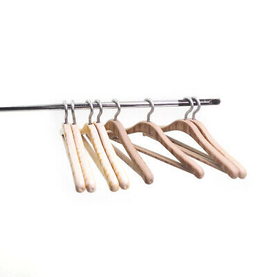 1:12 Dollhouse Miniature 8pcs Hangers for Bedroom Wardrobe Clothing Hanging