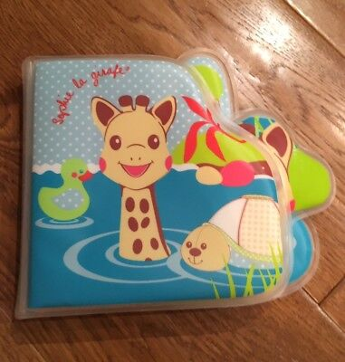 Vulli 010401 Sophie the Giraffe Bath time Bath Plastic Book
