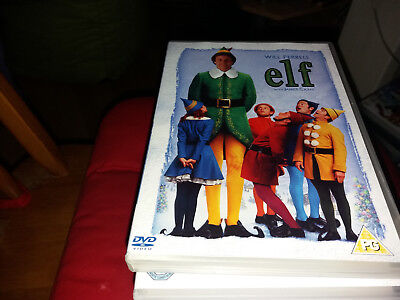 ELF  will ferrell  2 disc   christmas film  free uk postage