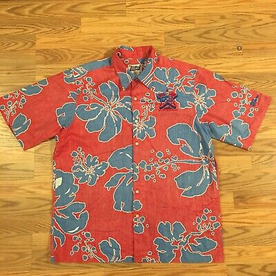 ecf6a631c VTG Reyn Spooner NFL Pro Bowl Short Sleeve Button Down Shirt 2002 Medium