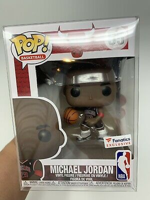 Funko POP NBA  Chicago Bulls Michael Jordan Fanatics Exclusive #55 IN HAND