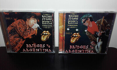 The ROLLING STONES : Bridges To Argentina (Brazil 2CD) Live in Buenos Aires 1998