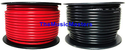 16 Gauge 100' ft each Red Black Auto PRIMARY WIRE 12V Wiring Car Power Cable