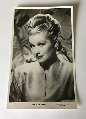 Lucille Ball * American Comedy Actress * MGM Real Photocard 239