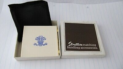 Vintage Stratton enamel photo wallet.Prince of Wales feathers.Ich dein.