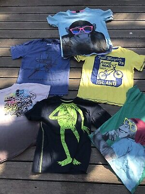 T-shirt Bundle 8-9 Years Next And Fatface