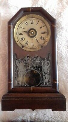 Antique. American.   Seth Thomas  shelf clock  . 8 Day