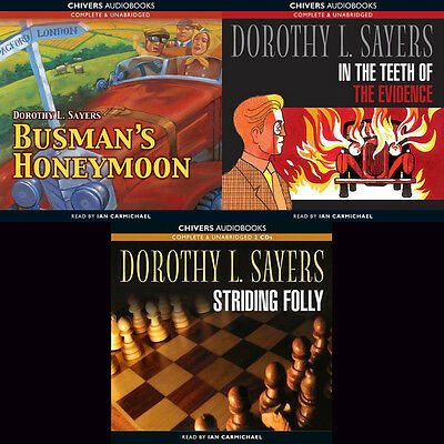 Dorothy L.Sayers - Lord Peter Wimsey Books 13-15 Audio Collection (06) on mp3CD