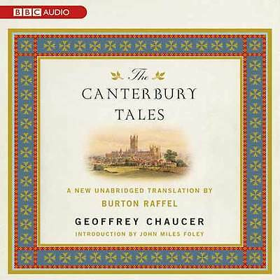 The Canterbury Tales by Geoffrey Chaucer - mp3CD Audiobook