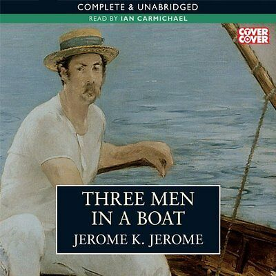 Jerome K. Jerome - Three Men in a Boat and more Audiobooks on mp3CD