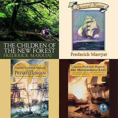 Frederick Marryat  Audiobook Collection mp3 DVD