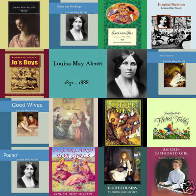 Louisa May Alcott - Huge Audiobook Collection on mp3 DVD