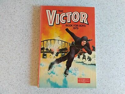 Vintage Annual The Victor Book For Boys 1976 - Good Condition