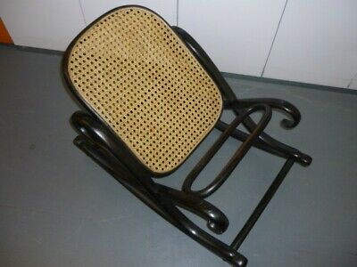 Bentwood footstool or gout stool.
