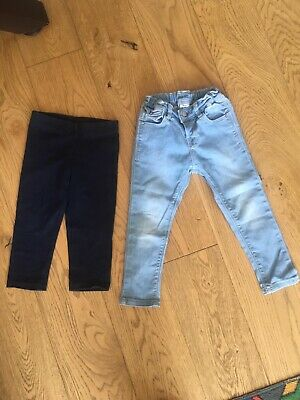 Mayoral Set of 2 Jeggings and Leggings Size 2 Years Old