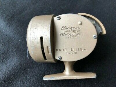 VINTAGE SHAKESPEARE # 1773 Wondercast Reel With Box And Manual For