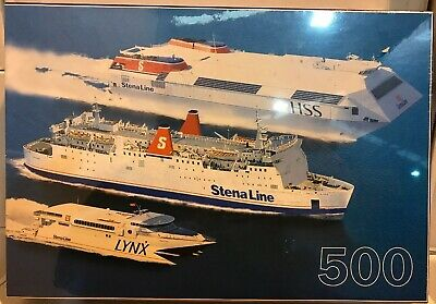 Stena Line ferry Shipping Line Jigsaw Puzzle 500 pieces NEW And SEALED