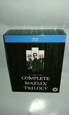 The Complete Matrix Trilogy blu ray