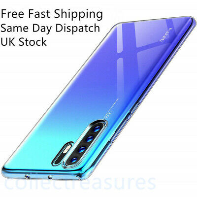 Case For Huawei P30 Pro Lite P Smart Cover Clear Ultra Slim Silicone Shockproof