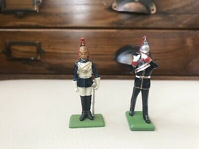 Guard And Bandsman Britain Soldiers