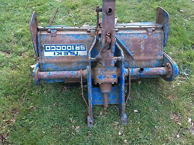 Iseki Compact tractor rotovator 1m wide SR1000CD with PTO joints