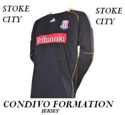 Stoke City Adidas 2011/12 Formation Goalkeeper Shirt Tags/Packet,Large