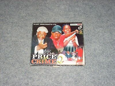 PRICE OF CRIME 2 African Movie DVD Digitally Mastered Lagos, Giant Merch., Rare!