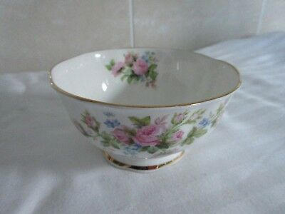 Vintage Royal Albert Flower Of The Month Sugar Bowl