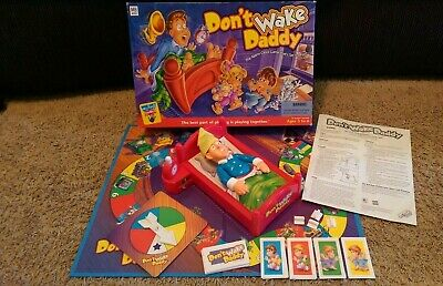 Don't Wake Daddy - 2001 Hasbro Milton Bradley Kid's Game COMPLETE IN BOX WORKS!