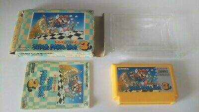 Super Mario Bros 3 BOX and Manual Famicom NES NTSC-J Nintendo from japan