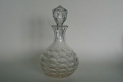 Cut Glass / Crystal Caraff style Decanter & Stopper (possible marriage)