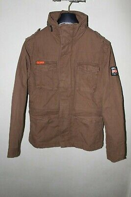 SUPERDRY CLASSIC ROOKIE MILITARY M50000NR LAB M Rusty Gold New