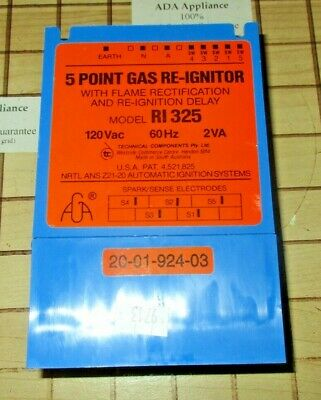NEW Thermador Range 5-point Spark Module / Gas Re-Igniter 20-01-924-03, RI-325