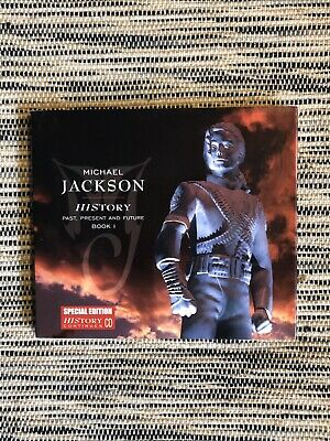 Michael Jackson History Continues CD Special Edition Rare