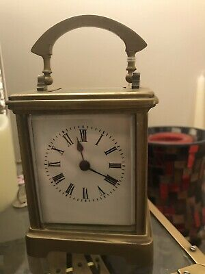Victorian CARRIAGE CLOCK Working