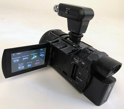 Sony FDR-AX53 Camcorder with essential Extras