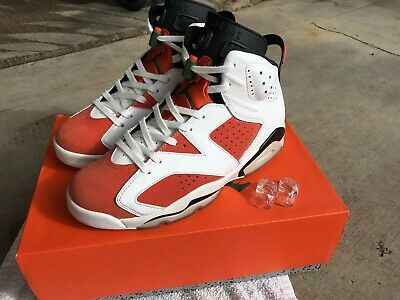 aa933b9cac1d NIKE MENS AIR Jordan 6 VI Retro Gatorade Orange Like Mike Size 10 ...
