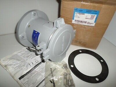 *NEW IN BOX* CROUSE-HINDS CDR20034 200-Amp PIN&SLEEVE RECEPTACLE 200A 3W 4P