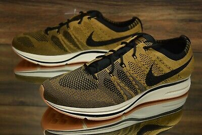 5b8f0c8599c97 Nike Flyknit Trainer Golden Beige AH8296-203 Running Shoes Men s Multi Size  NEW