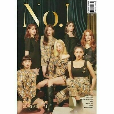 "SJmusic [CLC] 8th Mini Album ""NO.1""  CD+BookLET+Card+POSTERs, SEALED"