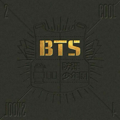 "SJmusic [BTS] ""2 COOL 4 SKOOL"" 1st Single Album CD+BookLET, SEALED"