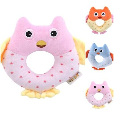 Lovely Animal Rattle Toy Baby Hand Bell Newborn Bed Stroller Hanging Toys Gift
