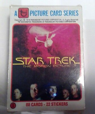 1979 Topps Star Trek The Motion Picture Complete Set