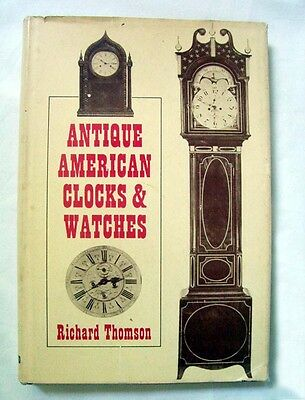 Antique American Clocks & Watches, 1968, Includes Serial & Production Numbers
