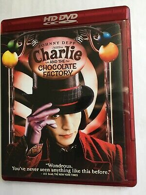 HD DVD Charlie and the Chocolate Factory