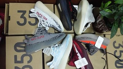 NEW BOYS GIRLS SHOES YEEZY-Boost 350 V2 KIDS GENUINE SPORTS RUNNING TRAINERS