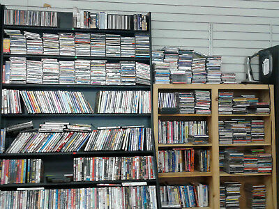 Bulk Wholesale Estate Lot $2 Music CD Search Selection - FREE SHIPPING for 6 CDs