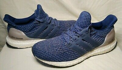 6b59346bc9fbb Adidas Ultra Boost 3.0 Women s Size 9 Mystery Blue Vapour Grey BA8928  Sneakers