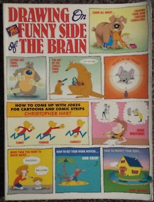 Drawing On The Funny Side Of The Brain Book Cartoons Animals Buildings Sketching